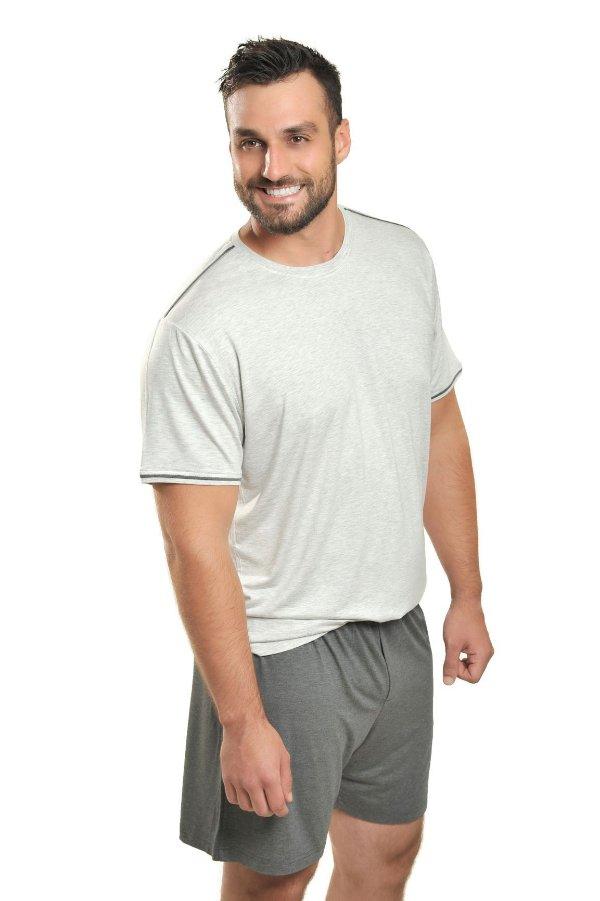 Pijama Masculino curto Viscose