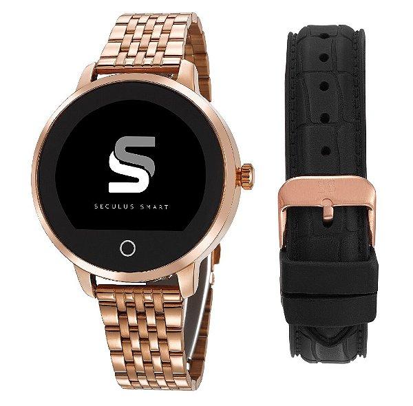 46c79de9b0b Relógio Séculus Smart Feminino Rosê - Lançamento - Balangandã Online