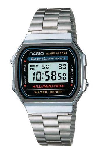 56cafd09d48 Relógio Casio Vintage Prata Inspired A168WQ - Balangandã Online
