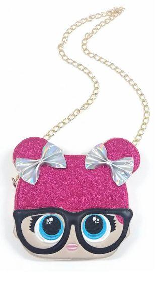1cb62a7c0 Bolsa Lol Óculos Rosa - Balangandã Online