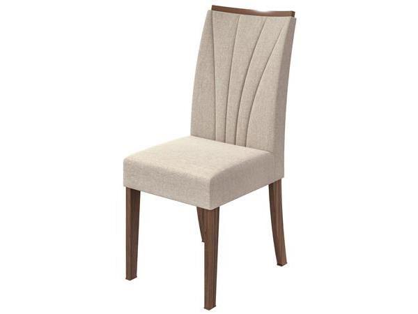 Cadeira Rock Imbuia Naturale-Linho