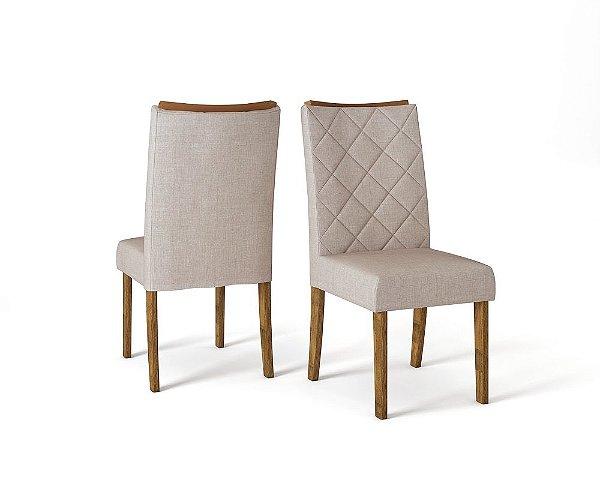 Cadeira Golden Malbec-Linho Claro