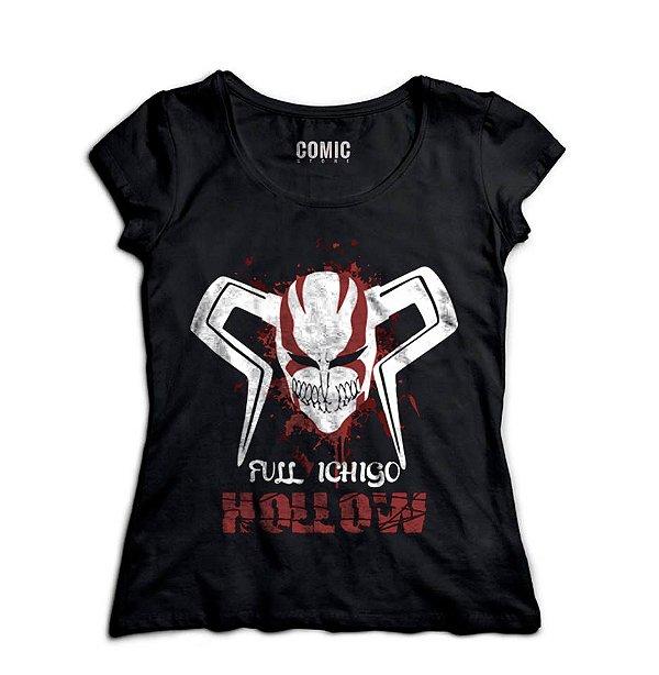 Camiseta  Feminina Anime Full Ichigo Hollow