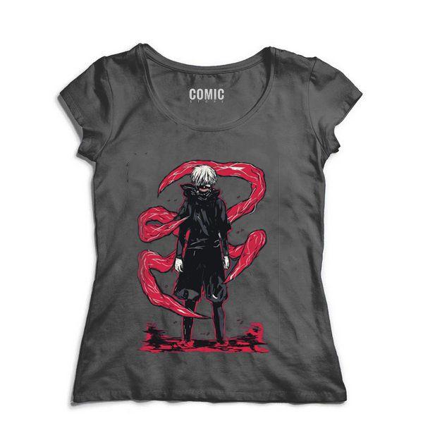 Camiseta  Feminina Anime tokyo ghoul Reaper