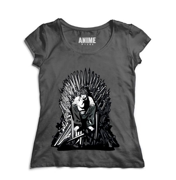 Camiseta  Feminina Anime Game of Deaths