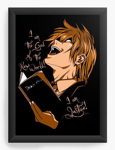 Quadro Decorativo A4(33X24) Anime God of The New World