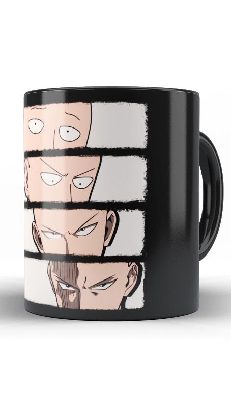 Caneca Anime One Punch Transformation