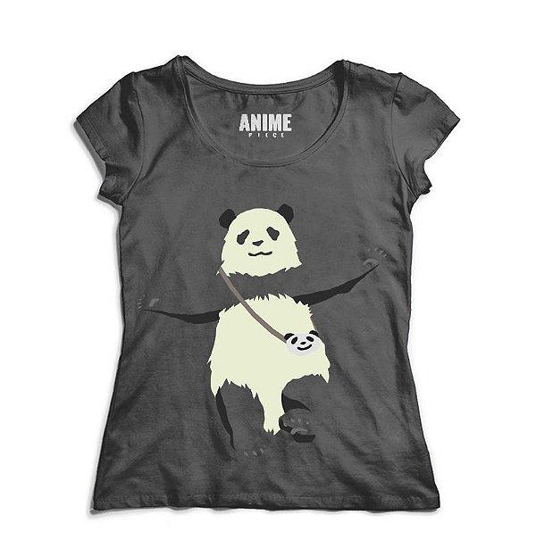 Camiseta  Feminina Anime Shirokuma Cafe Panda