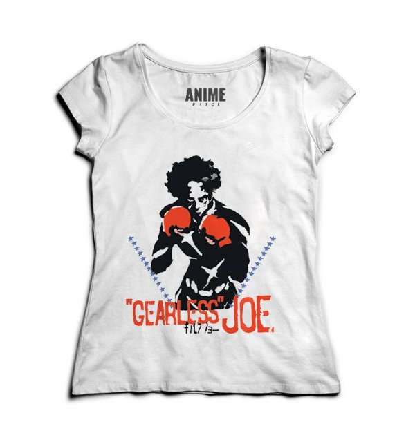 Camiseta  Feminina Anime Megalo Box
