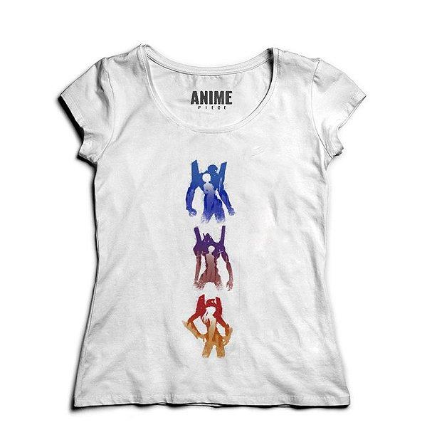 Camiseta  Feminina Anime Neon Genesis Evangelion