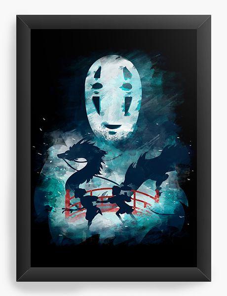 Quadro Decorativo A4(33X24) Anime Chihiro