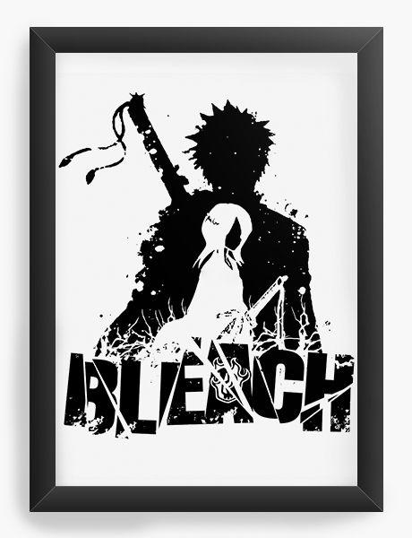 Quadro Decorativo A4(33X24) Anime Bleach