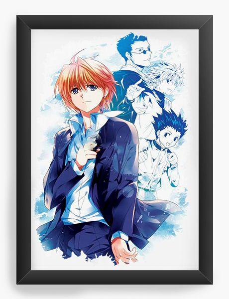 Quadro Decorativo A4(33X24) Anime Hunter Vs Hunter