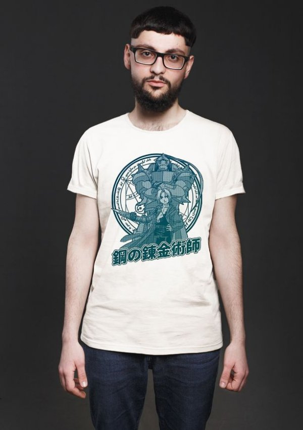 Camiseta Anime Fullmetal Edward