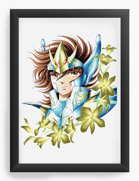 Quadro Decorativo Anime Cavaleiros do Zodiaco Saint Seiya