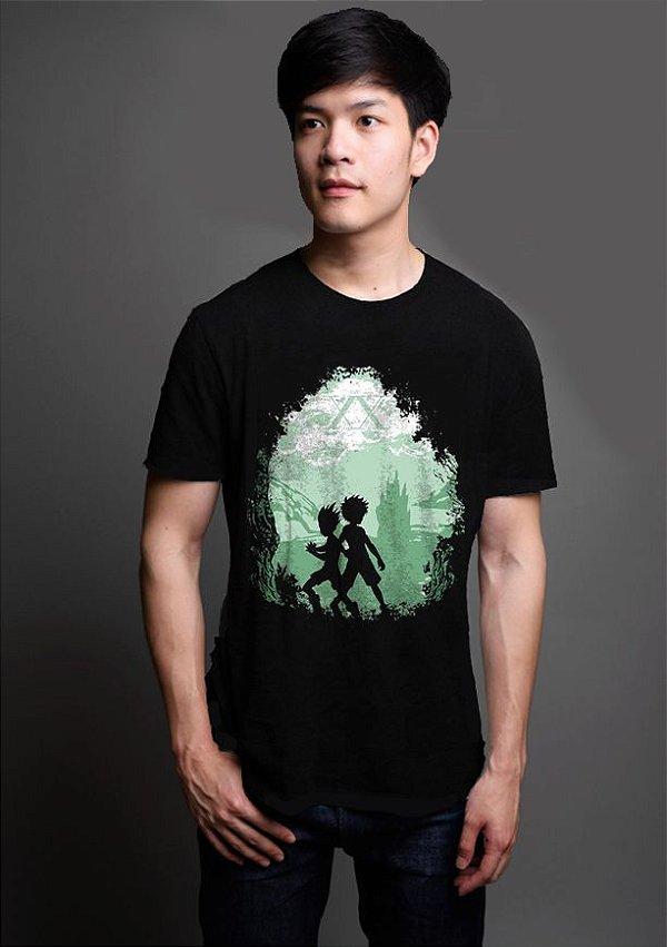 Camiseta Anime   Hunter × Hunter Gon x Killua