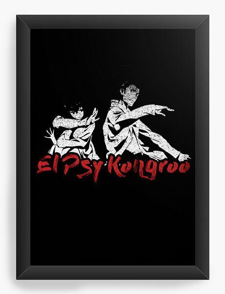 Quadro Decorativo A4(33X24) Anime Steins; Gate El Psy Kongroo