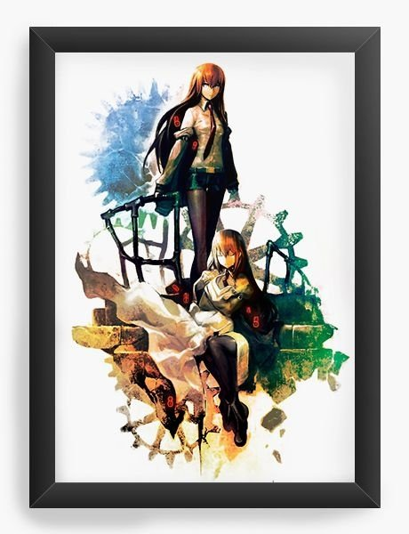 Quadro Decorativo A3 (45X33) Anime Steins;Gate Paradigm