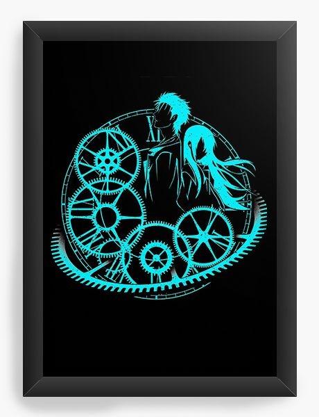 Quadro Decorativo A3 (45X33) Anime Steins;Gate Time