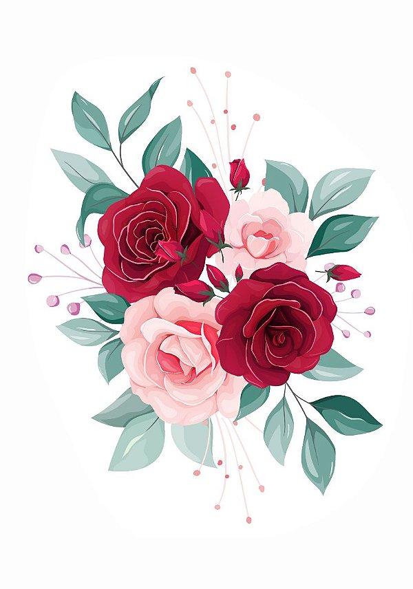 C087   Arranjo de rosas