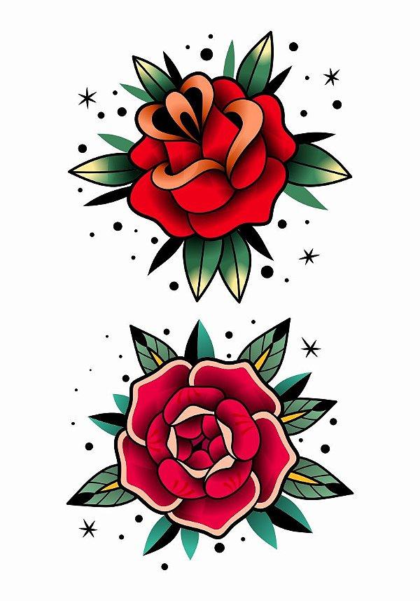 C088 |Rosas Vintage