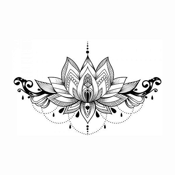 Tatuagem Temporária Decote | Jóia | Peito
