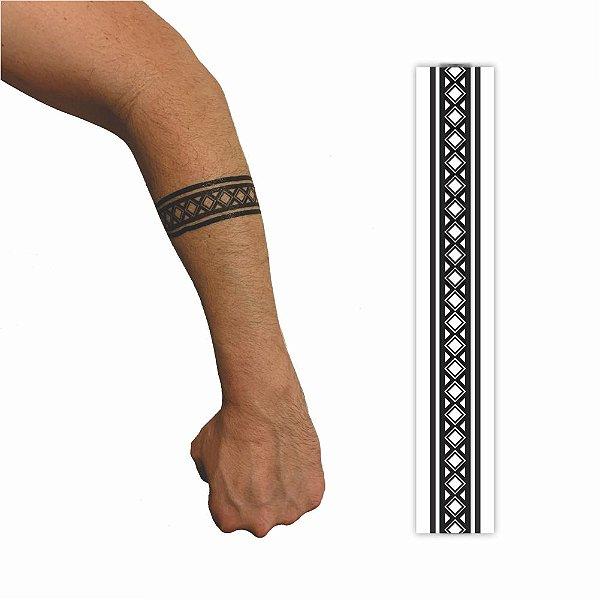 Tatuagem Temporária   Bracelete  030