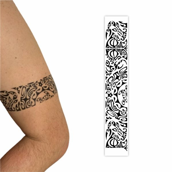 Tatuagem Temporária   Bracelete  031