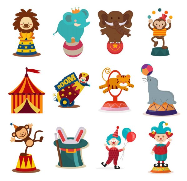 028 Kit Festa Grande Circo