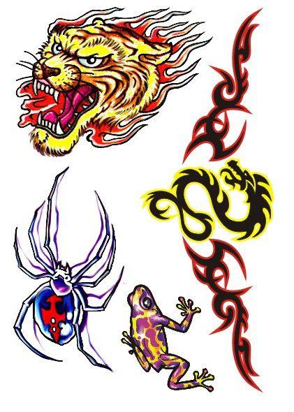 C010 Tigre, Aranha, Sapo e Dragão
