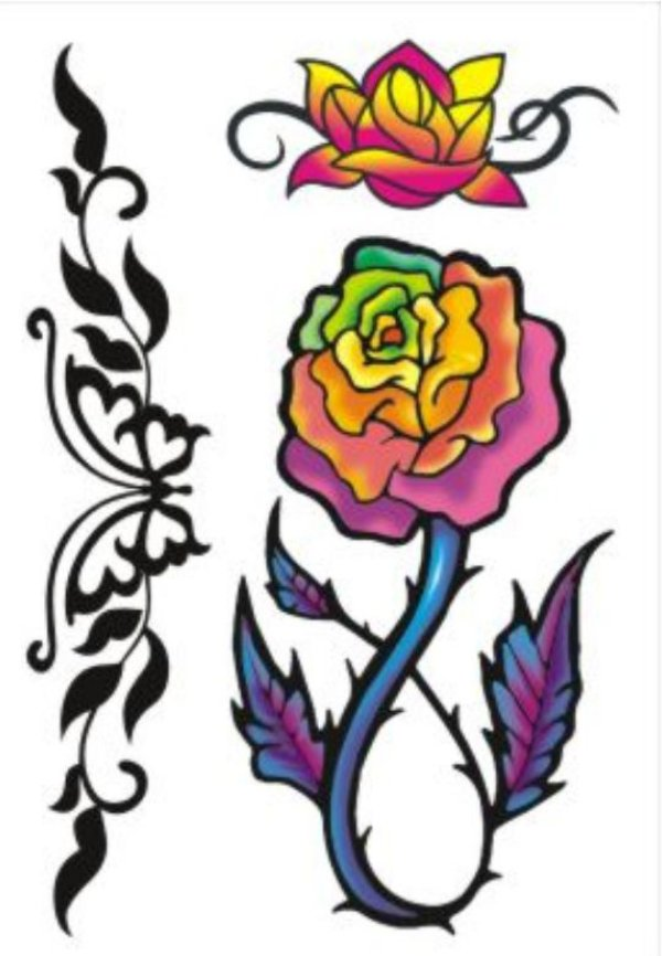 C011 Borboleta e Flores