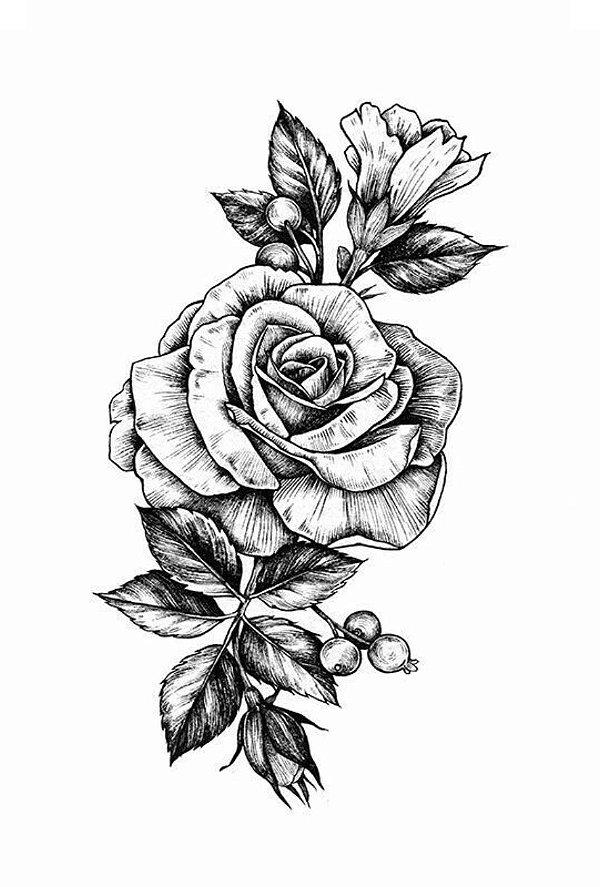 PB025 Flor | Rosa