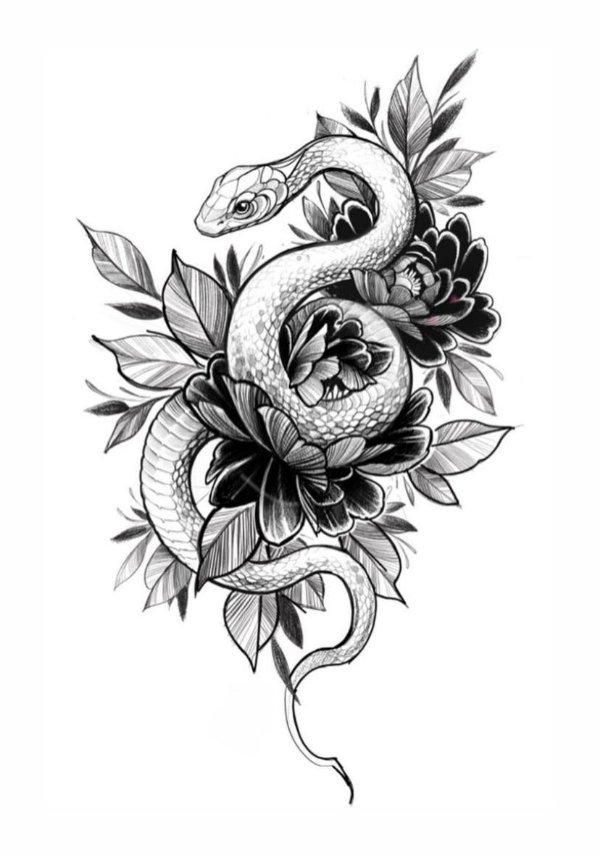 PB042 Cobra e Flores