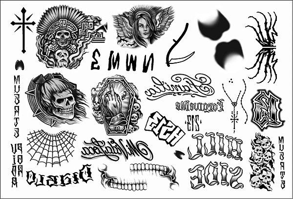 Kit Tatuagens El Diablo