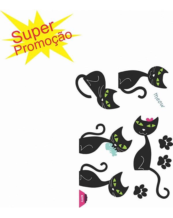 Adesivo Decorativo para ambiente Felino