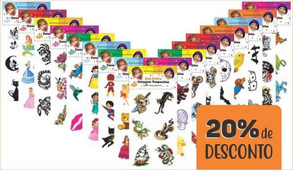 PROMOÇÃO - Kit Festa GD 4800 tatuagens