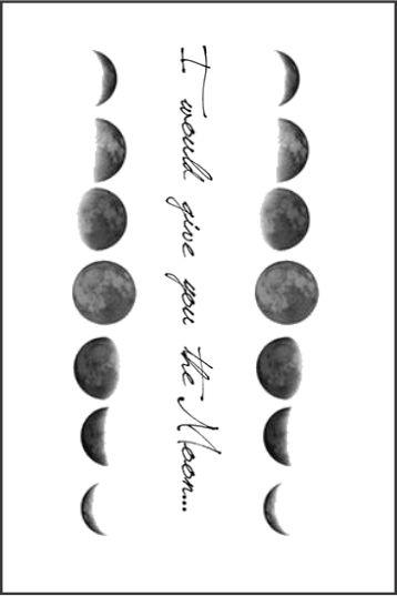 Tatuagem LUA PB| VR06