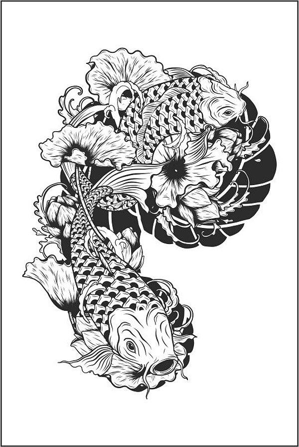 Tatuagem Braço | Carpa | PB