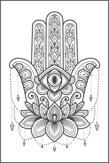 Tatuagem Mão de Fátima PB| VR013