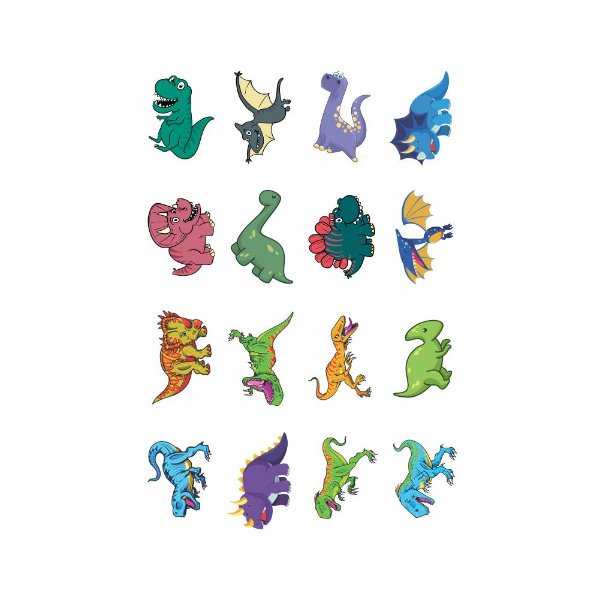 001 | Kit Festa 16 Grande Dinossauro