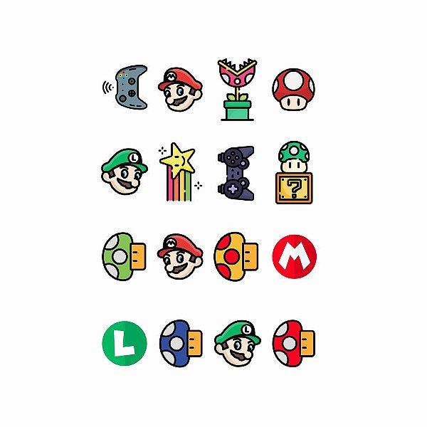003 | Kit Festa 16 Grande Mario