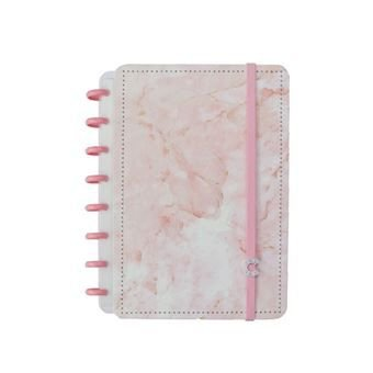 Caderno Pink Marble Dream - A5  Caderno Inteligente