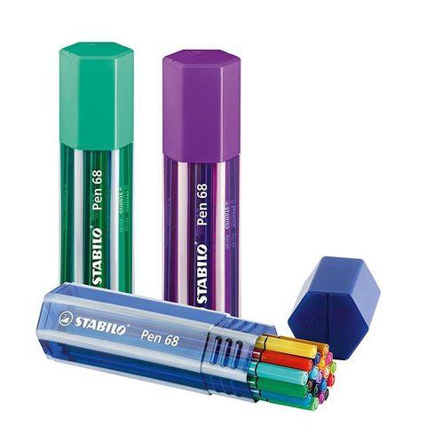 Caneta Pen 68 Big Pen Box - Stabilo