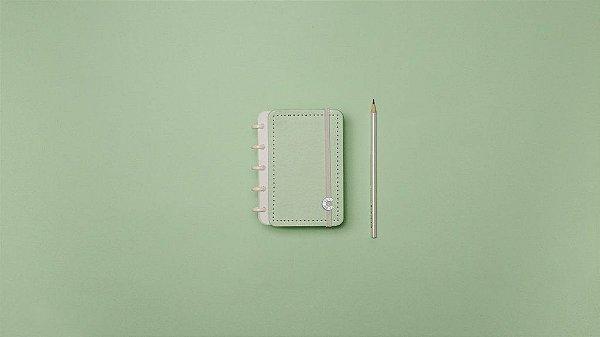 Caderno Verde Pastel  Inteligine  - Caderno Inteligente