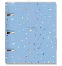 Caderno Argolado Corações Holográficos - Fina Ideia