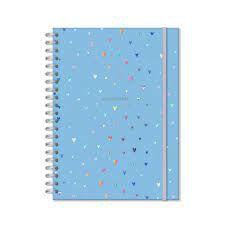Caderno Universitário  Coracões  Holográficos