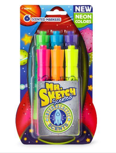 kit de Marcadores Aromatizados Mr. Sketch - Neon