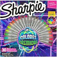 Marcadores Permanentes Sharpie - Colors Cósmicos