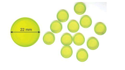 Kit de Discos Verdes  Transparentes ( para 80 folhas) - Octo