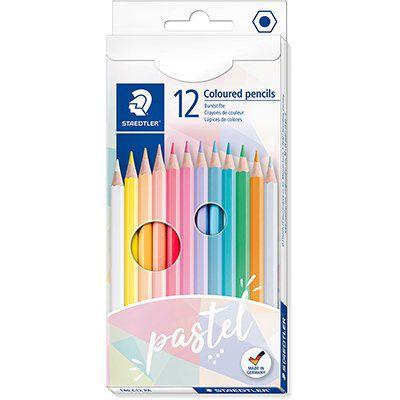 Lápis de Cor Tons Pastel ( 12 cores) -  Staedtler